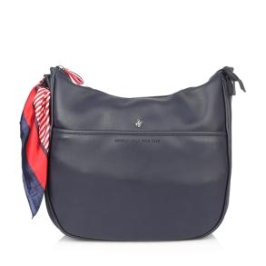 Τσάντα BEVERLY HILLS POLO CLUB BH2412 Μπλε
