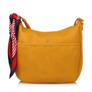 Τσάντα BEVERLY HILLS POLO CLUB BH2412 Όχρα