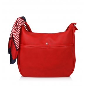 Τσάντα BEVERLY HILLS POLO CLUB BH2412 Κόκκινο