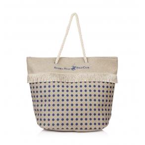 Τσάντα Θαλάσσης BEVERLY HILLS POLO CLUB BH-2511 Μπλε