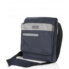 Τσάντα χιαστί POLO BH663 Μπλε