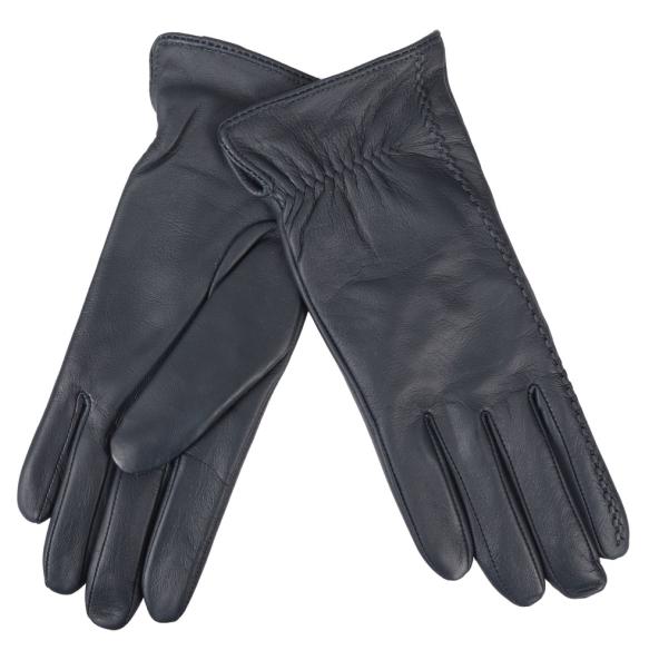 δερμάτινα γάντια Guy Laroche 98862 Μπλε
