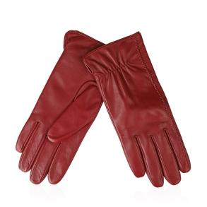 Δερμάτινα γάντια Guy Laroche 98862 Κόκκινο