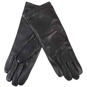 δερμάτινα γάντια Guy Laroche 98874 Μαύρο