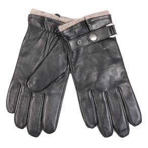 δερμάτινα γάντια guy laroche 98954 Μαύρα