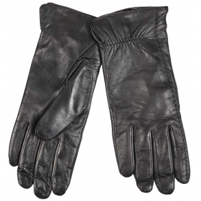 δερμάτινα γάντια Guy Laroche 98862 Μαύρο