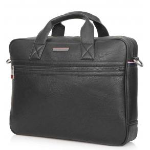 Τσάντα TOMMY HILFIGER Essential Μαύρη