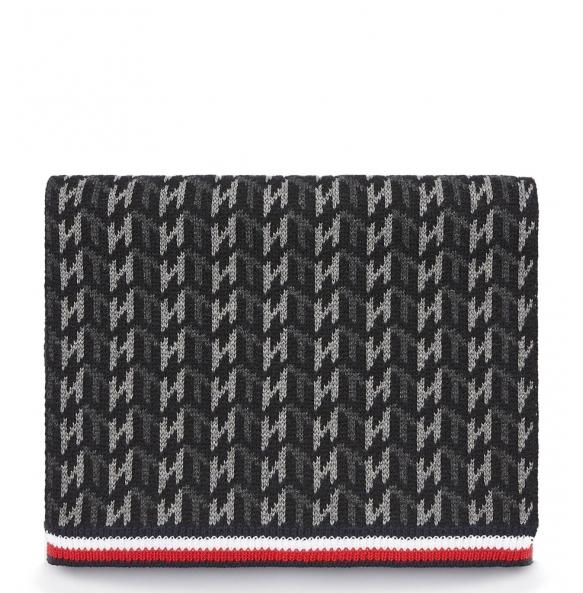 Κασκόλ TOMMY HILFIGER 5175 Monogram Knit Γκρι