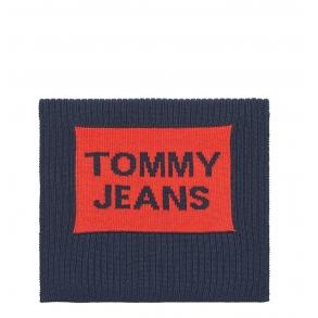 Κασκόλ TOMMY HILFIGER 5212 Tjm Warm Logo Μπλε