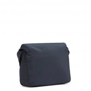 Τσάντα TOMMY HILFIGER 5221 Logo Messenger Μπλε