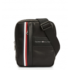 Τσάντα TOMMY HILFIGER 6242 TH Metropolitan Mini Rreporter Μαύρο