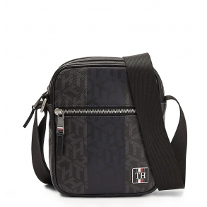 Τσάντα TOMMY HILFIGER 6256 TH Modern CC Mini Rreporter Μαύρο