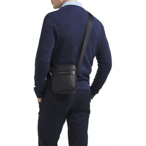 Τσάντα TOMMY HILFIGER 6264 TH Modern Mini Reporter Μαύρο