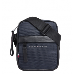 Τσάντα TOMMY HILFIGER 6472 Elevated Nylon Mini Reporter Μπλε