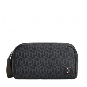 Νεσεσέρ Tommy Hilfiger 6514 Coated Canvas Monogram Μαύρο