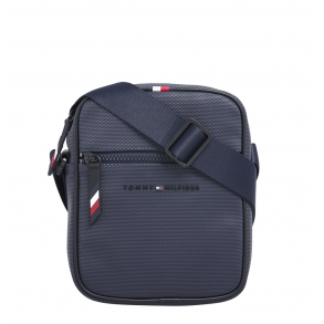 Τσάντα TOMMY HILFIGER 6702 Essential Pique Mini Reporter Μπλε