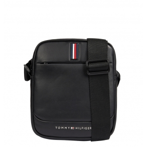 Τσάντα TOMMY HILFIGER 7214 TH Metro Mini Rreporter Μαύρο