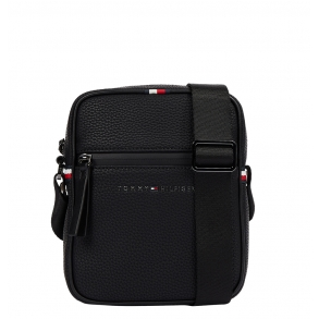 Τσάντα TOMMY HILFIGER 7233 Essential Mini Rreporter Μαύρο