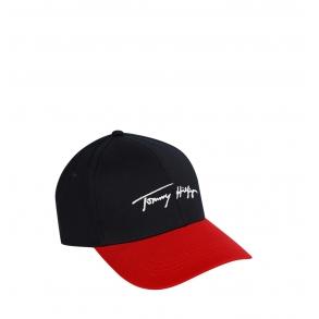Καπέλο TOMMY HILFIGER 7384 TH Signature Μπλε