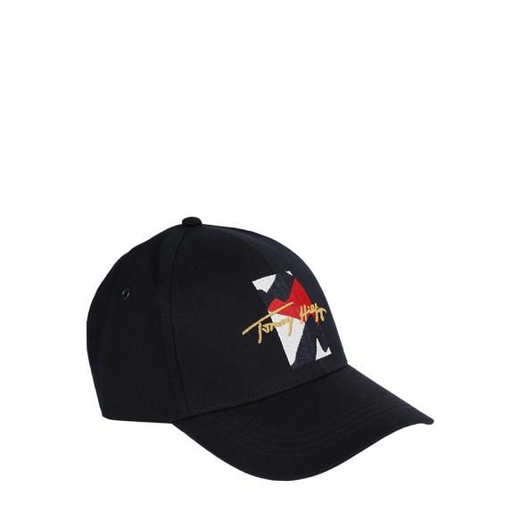 Καπέλο TOMMY HILFIGER 7386 TH Flag Signature Μπλε