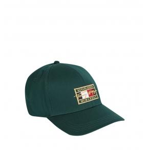 Καπέλο TOMMY HILFIGER 7387 TH Patch Signature Πράσινο