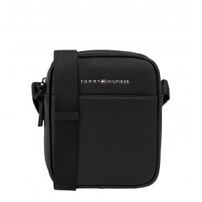 Τσάντα TOMMY HILFIGER 7796 Essential Mini Reporter Μαύρο