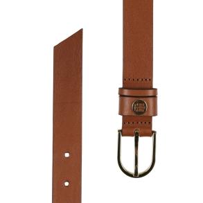 Ζώνη TOMMY HILFIGER 8927 Classic Belt 2.5 Ταμπά