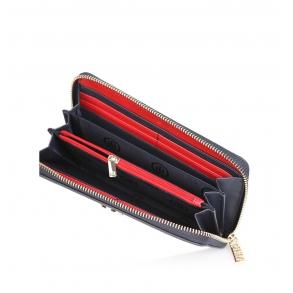Πορτοφόλι TOMMY HILFIGER 6500 TH Core Μπλε