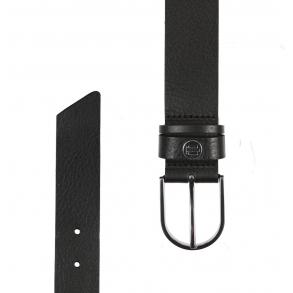 Ζώνη TOMMY HILFIGER 8928 Classic Belt 3.5 Μαύρο