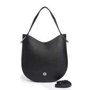 Τσάντα TOMMY HILFIGER 7307 TH Core Hobo Μαύρη