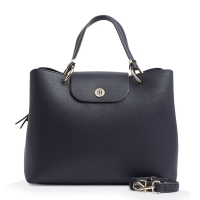 Τσάντα TOMMY HILFIGER 7315 My Tommy Satchel Μπλε