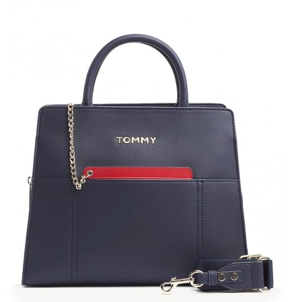 Τσάντα TOMMY HILFIGER 7334 Item Statement Tote Μπλε