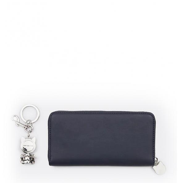Πορτοφόλι TOMMY HILFIGER 7451 Mascott Μπλε