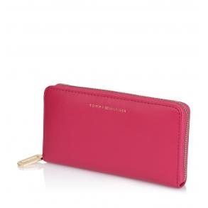 Πορτοφόλι TOMMY HILFIGER 7718 Soft Turnlock Ροζ