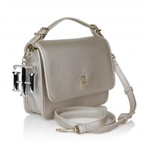 Τσάντα TOMMY HILFIGER 7984 TH Chic Ασημί
