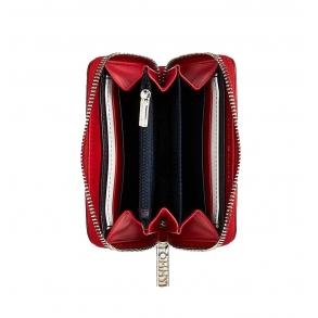 Πορτοφόλι TOMMY HILFIGER 8012 TH Core Compact Κόκκινο
