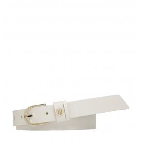 Ζώνη TOMMY HILFIGER 8542 Classic Belt 2.5 Λευκό