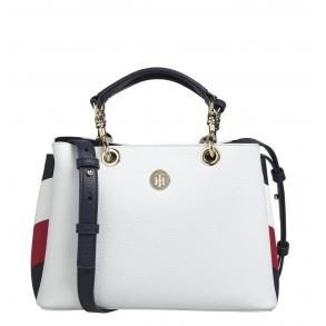 Τσάντα TOMMY HILFIGER 8633 TH Core Med Stachel Λευκό