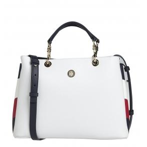 Τσάντα TOMMY HILFIGER 8635 TH Core Stachel Λευκό
