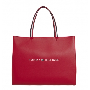 Τσάντα TOMMY HILFIGER 8731 Tommy Shopping Bag Κόκκινο