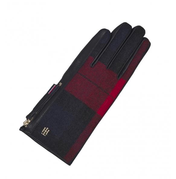 Δερμάτινα γάντια TOMMY HILFIGER 8941 Μπλε