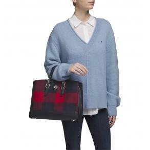 Τσάντα TOMMY HILFIGER 9060 Honey Workbag Μπλε