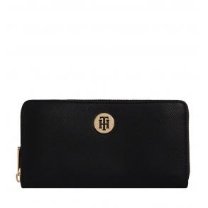Πορτοφόλι TOMMY HILFIGER 9534 Honey Μαύρο