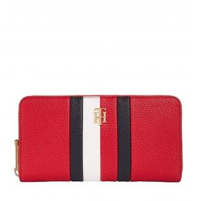 Πορτοφόλι TOMMY HILFIGER 9899 TH Essence Lrg Κόκκινο