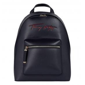 Σακίδιο TOMMY HILFIGER 10459 Iconic Tommy Signature Μπλε