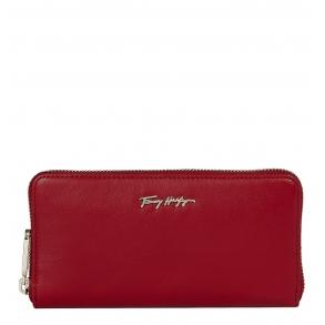 Πορτοφόλι TOMMY HILFIGER 10498 Essential Leather Κόκκινο