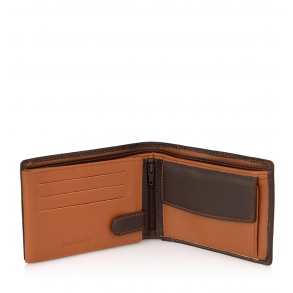 Πορτοφόλι LUXUS 1041-52 Καφέ