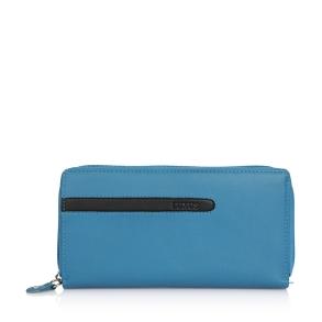 Πορτοφόλι LUXUS 614710-52 Γαλάζιο