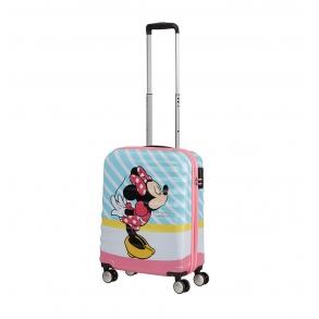 Bαλίτσα καμπίνας AMERICAN TOURISTER Minnie Pink Kiss