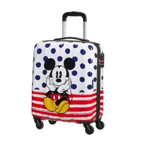 Βαλίτσα καμπίνας AMERICAN TOURISTER 92699-9072 Mickey Blue Dots